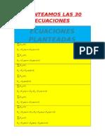 Ecuaciones de Las Fuersas Matriz11