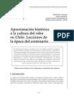 Daniel Palma A. Aproximación Histórica a La Cultura Del Robo en Chile (2008)