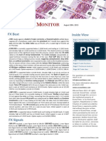 Economics Monitor - August 28th 2015