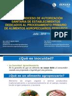2. Proceso Autorización Sanitaria Establecimientos