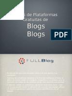 Tipos de Plataformas Gratuitas De