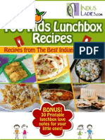 100 Kids Lunch Box Recipes
