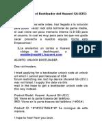 Guia Desbloqueo Del Bootloader Huawei G6-U251