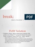 Programming Meeting Slides
