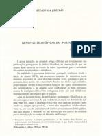 Revistas Filosóficas Em Portugal