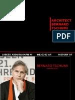 Ar. Bernard Tschumi
