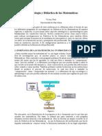 Epistemología y Didáctica de Las Matemáticas Coloquio
