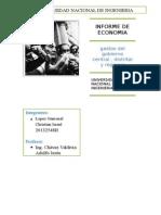 Informe de Economia