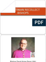 Augustinian Recollect Bishops