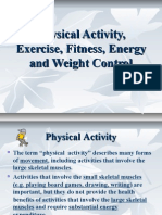 Energy, Exercise & Weight Control