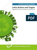 Better Practice Actions and Targets-29.08.13