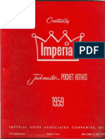 1959 Imperial Knife Catalog