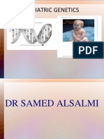 Pediatric Genetics Dr. Samed Alsalmi
