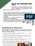 Estrategias de MarketESTRATEGIAS DE MARKETINGing