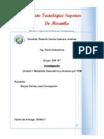 Modelado geométrico y análisis por FEM