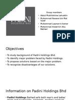 Padini Holdings Presentation