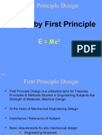 Design by First Principle