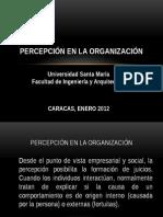 percepcion, comunicacion organizacional