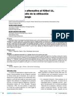 El fútbol 9 como alternativa al fútbol 11, a partir del estudio de la utilización del espacio de juego