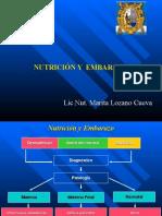 Clase n°9 - Nutricion y Embarazo