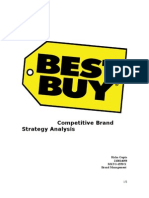 Competitive Brand Strategy Analysis