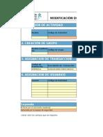 Ficha de Modificación de Las Estructuras Del Modelo de Autorizaciones V1