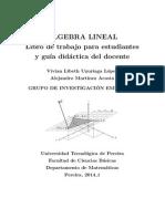 Algebra Lineal 2014