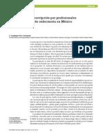 prescripcion de medicamentos/Enfermeria/ Mexico