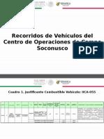 Recorridos de Vehiculos 2015_Soconusco