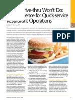 Quick Service DD