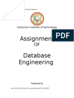 Assignment of DBMS