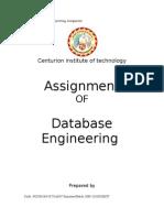 Assignment of DBMS