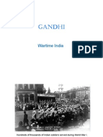 Gandhi Wartime India