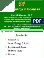 Ocean Energy Policy in Indonesia_Mukhtasor