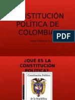 Constitución Política de Colombia Kate Gonzalez