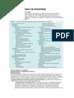 Hipotiroidismo en Pediatría