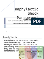 Anaphylactic Shock Lecture