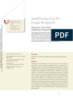 2014 - Small Proteins Can No Longer Be Ignored