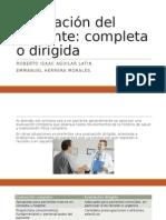 Evaluación Del Paciente