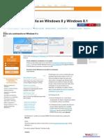 Desactivar Conreaseña Windows 8 y 8 1