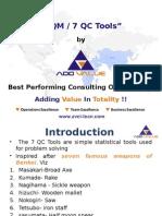 The Basics 7 QC Tools - ADDVALUE - Nilesh Arora