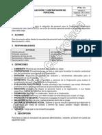 PTH-01 Seleccion y Contratacion de Personal