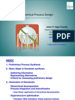 Subject 3.- Overview of Process Synthesis OCW