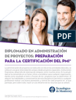 Diplomado AdmProy PMI