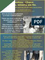 El Chaco en Argentina Entre El Hambre y La Indiferencia