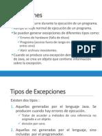 Excepciones en Java