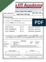 QP SR 15 Main Test 6