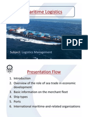 Maritime Logistics: Contemporary Issues (0)