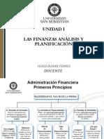 Materia Solemne 1 Unidad I Las Finanzas Analisis y Planificacion