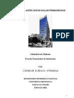 Artikel Administrasi Hukum Proyek Konstuksi